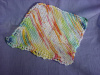 HAND KNIT 100% COTTON FACE OR DISH CLOTH